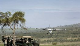 Safari-Vintage: Karibu Deluxe Avionetas y 4x4 + Manyara