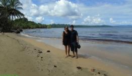 Playa de punta uva cerca de Puerto Viejo - Costa Rica