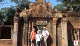 Familia PINEDO RODRIGUEZ (Malaga) - Camboya