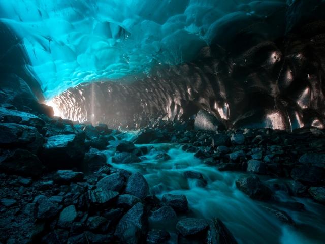 Gruta de glaciar