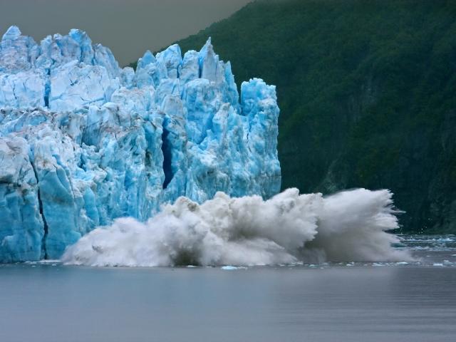 Grieta del glaciar