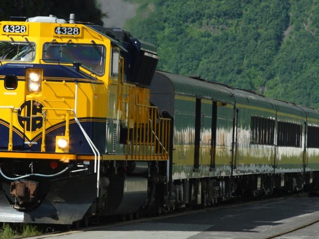 Tren en funcionamiento