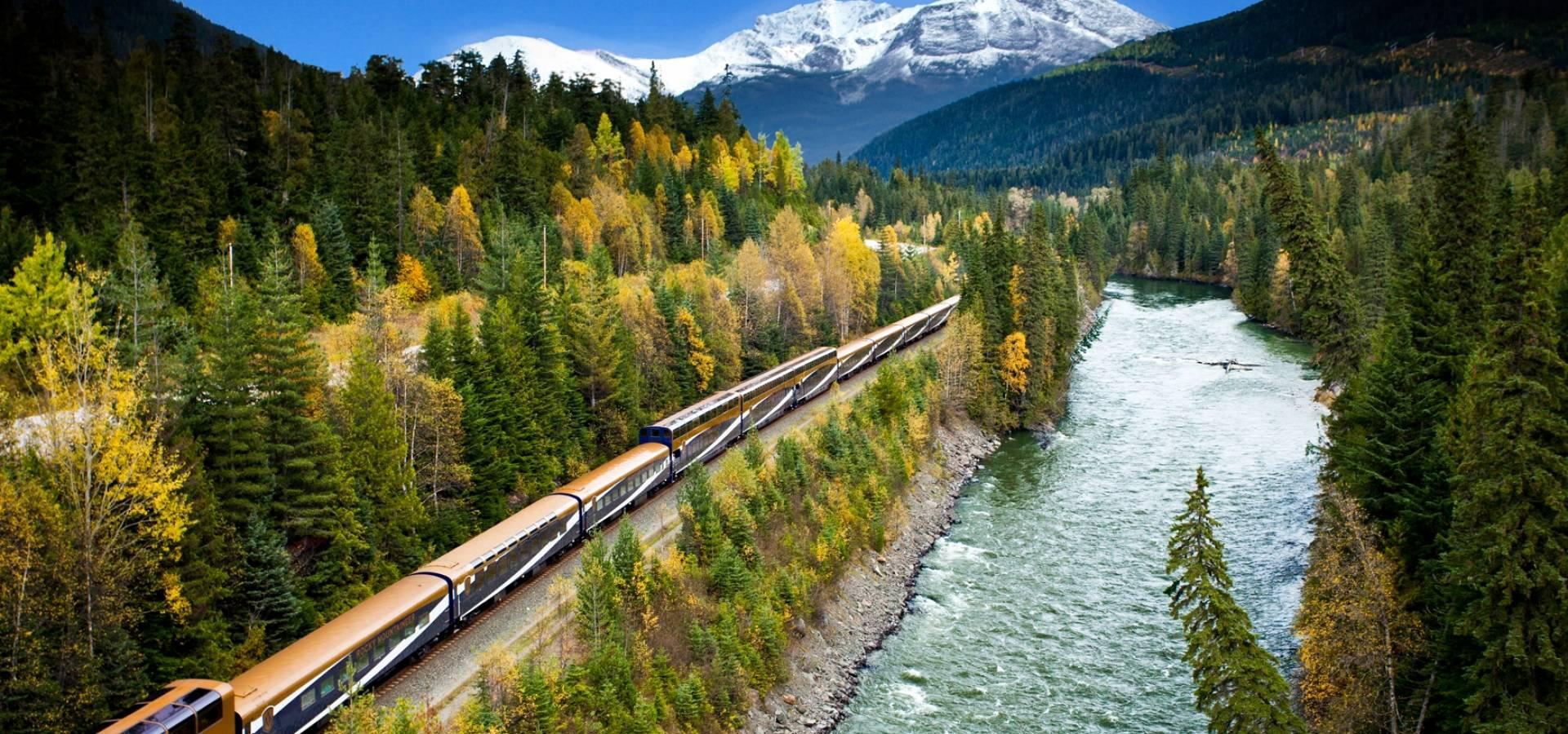 Tren Transcanadiense Montreal - Jasper + Rocky Mountaineer