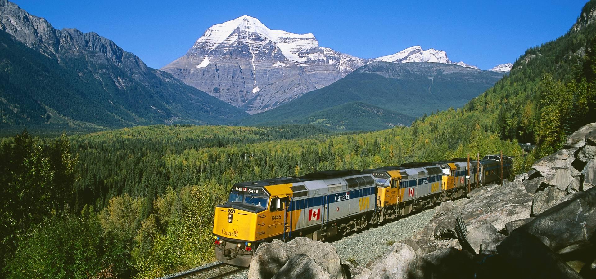 Tren Transcanadiense Toronto - Jasper + Las Rocosas Tour