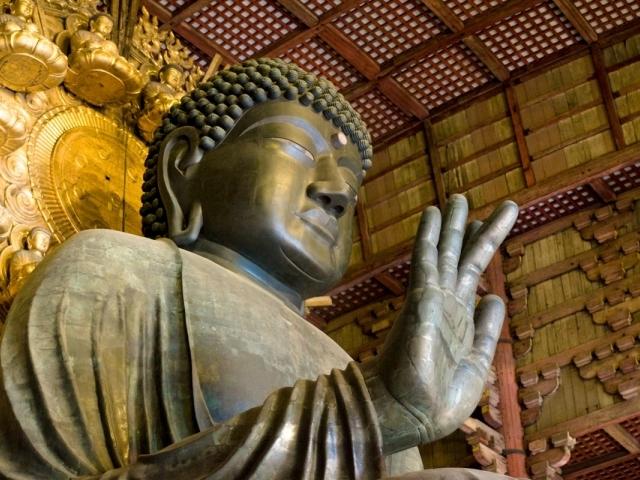 Templo de Todaiji - Estatua de Buda (Daibutsu)