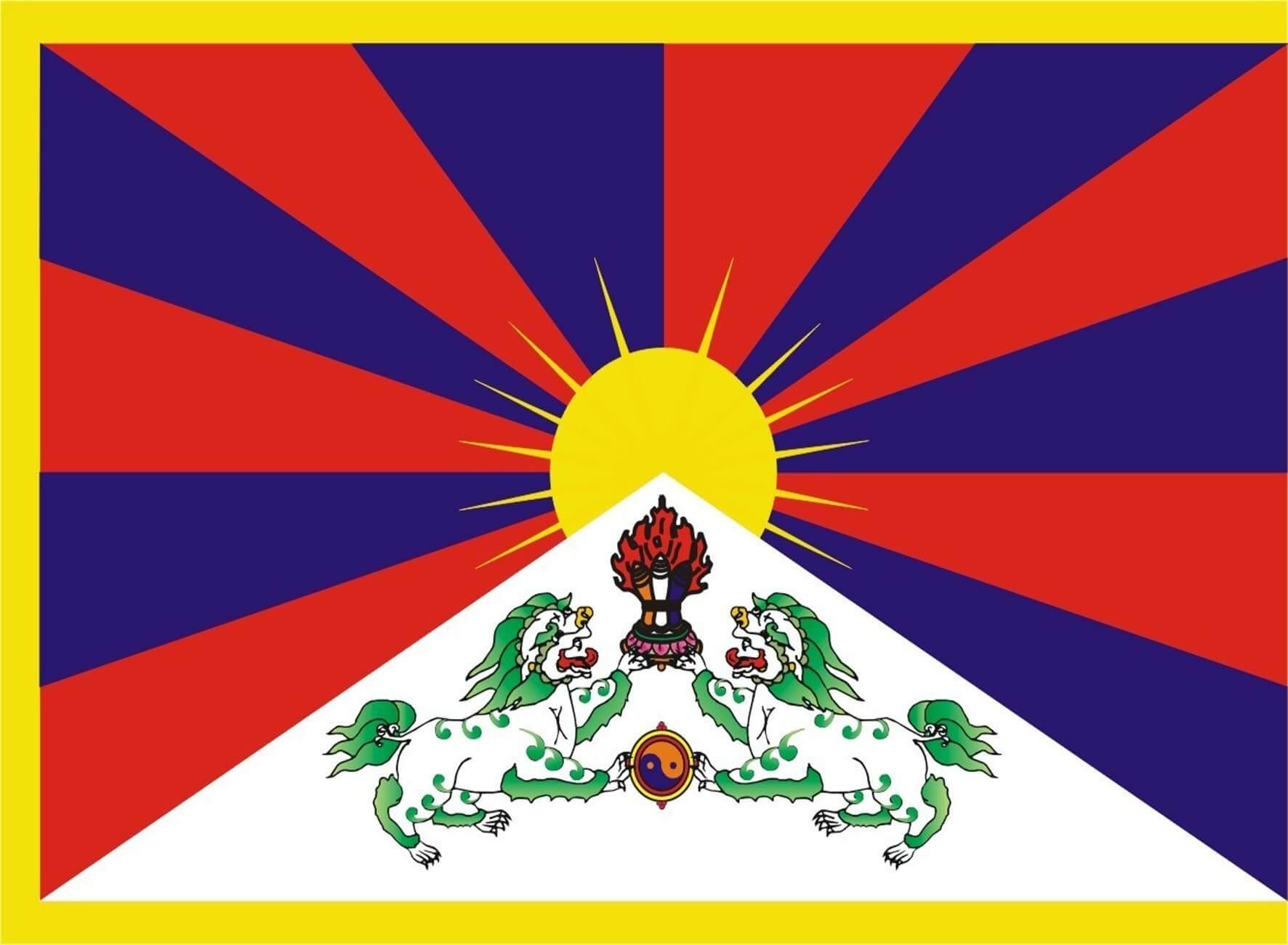 Bandera Tíbet (CN)